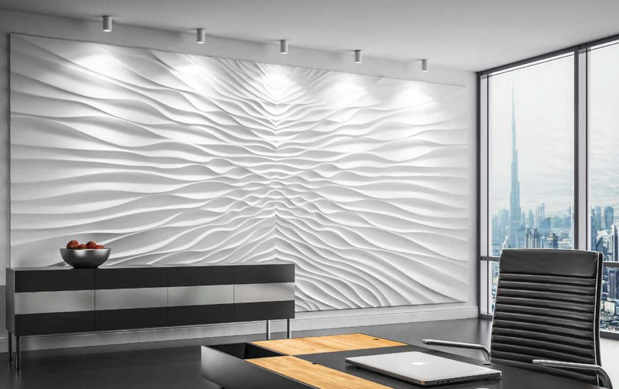Decorate your interior with contemporary wall panels wallpaper art more for Contemporary wall panels interior uk